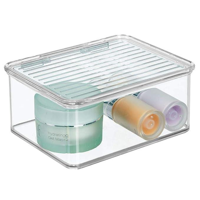 Amazon.com: mDesign apilable mueble de baño encimera ...
