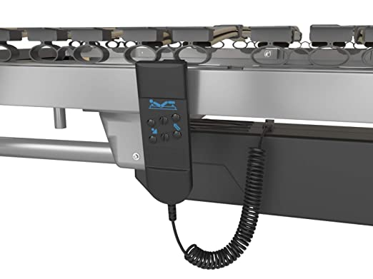 Cama articulada eléctrica reforzada Basic 90x190 cms. Somier reforzado con mando a distancia por cable Uso geriátrico y doméstico Se suministra totalmente ...