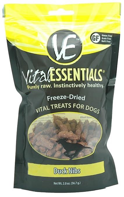 Amazoncom Vital Essentials Freeze Dried Duck Nibs 2oz Pet Supplies