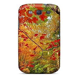 Mialisabblake Fashion Protective Beautiful Autumn Colors Case Cover For Galaxy S3