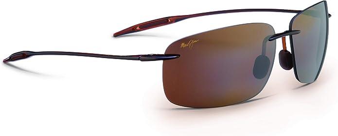 Maui Jim Breakwall | Polarized Rimless Frame Sunglasses, with Patented PolarizedPlus2 Lens Technology