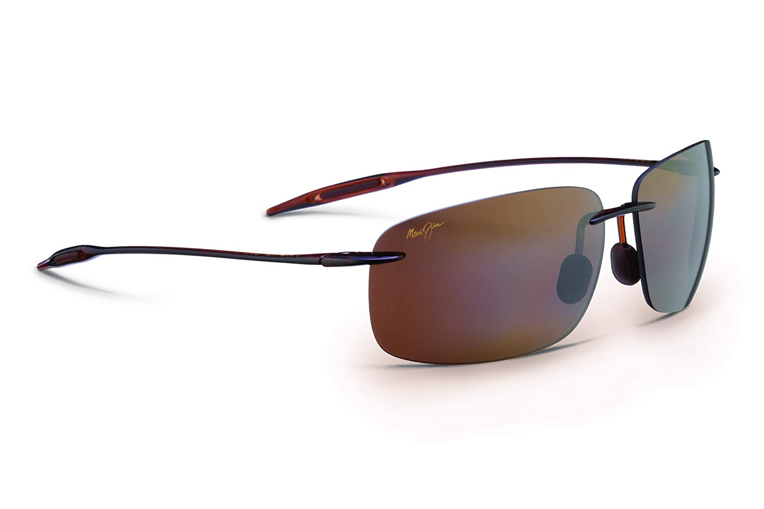 Maui Jim Sunglasses | Breakwall 422 | Rimless Frame, Polarized Lenses, with Patented PolarizedPlus2 Lens Technology