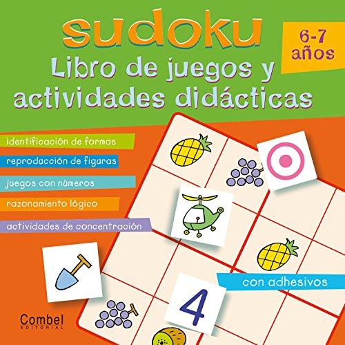 SUDOKU LIBRO DE JUEGOS Y ACTIVIDADES DIDACTICAS 6-7 AÑOS