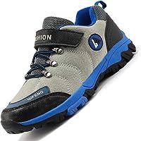 Rokiemen Zapatos de Senderismo para niños Impermeables Deportiva al Aire Libre Zapatillas de Trekking Montaña Gr.31-39