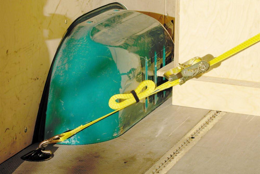 Wolfcraft 3274000-1 tensor de cinta de carraca con gancho 5 m