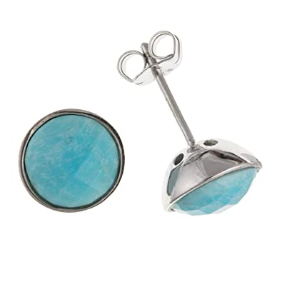 shopping small genuine cheap find sun stud turquoise earrings co guides silver brinley sterling