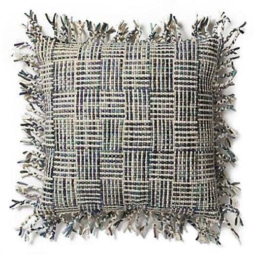 Magnolia Home By Joanna Gaines Geraldine 22 Inch Throw Pillow Ivory/Gray/Purple (Magnolia Gaines Joanna Bedding)