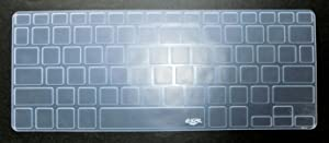 BingoBuy US Layout Keyboard Protector Skin Cover for Dell Inspiron 13-7347 13-7348 13-7359 13-7352 13-7353 15-7547 15-7548 XPS 13-9343 13-9350 13-9360 with BingoBuy Credit Card Case (Clear)