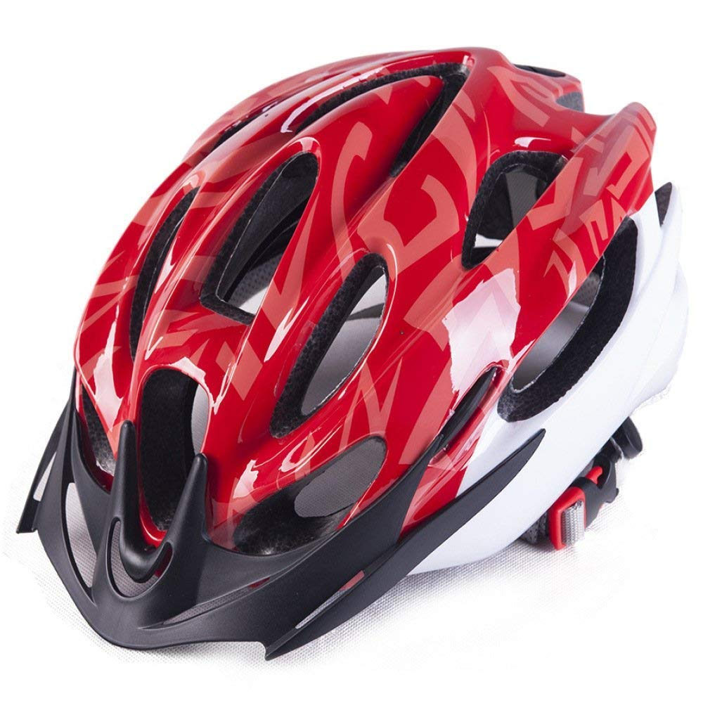 56-62Cm Cas Oli Casco Casco Casco da bicicletta Outdoor Eps Leggero Confortevole Moda Ventilato Sicurezza Casco quattro stagioni Neutro adatto per circonferenza della testa