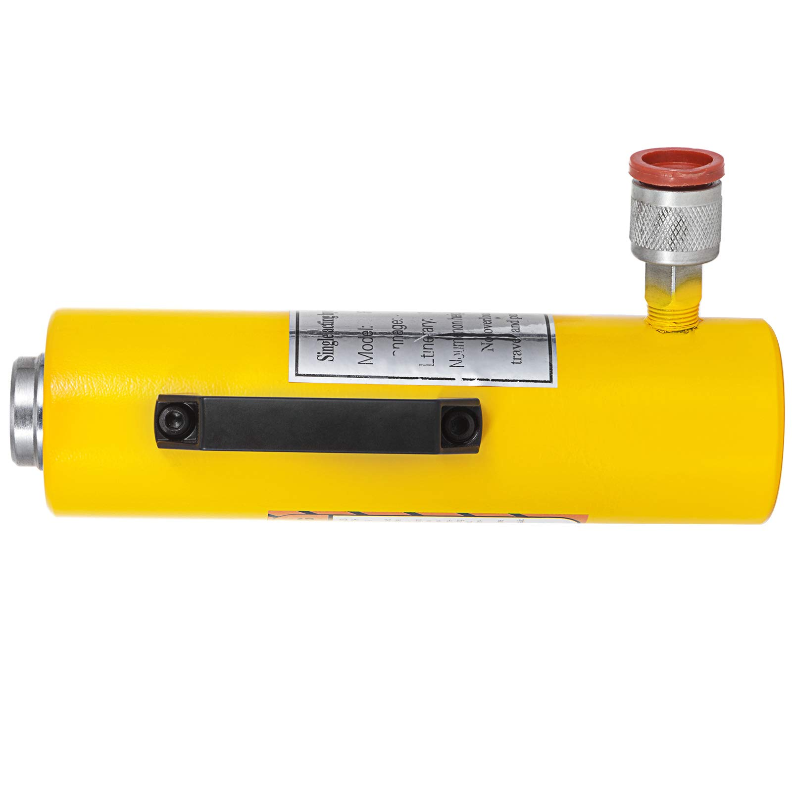 Mophorn 10T 6'' Stroke Hydraulic Cylinder Jack Solid Single Acting Hydraulic Ram Cylinder 150mm Hydraulic Lifting Cylinders for Riggers Fabricators (10T 6'') by Mophorn (Image #5)