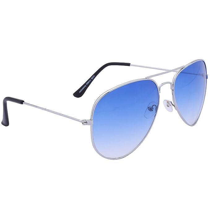 White For Sunglasses Lens Men Silver Frame Dervin Aviator Blue And Ovn0mwyN8