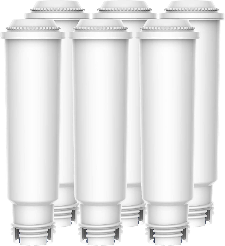 Inclusi Vari Modelli di Nespresso Impressa Compatibile con Jura Claris White 6 Capresso WaterDrop Certificato T/ÜV S/ÜD Filtro Acqua per Macchina da caff/è Avantgarde