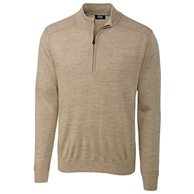 8db86ac4d040 Cutter   Buck Men s Douglas Quarter-Zip Sweater at Amazon Men s ...