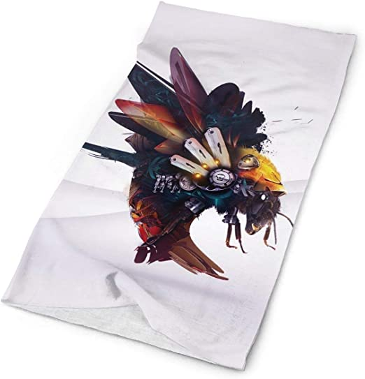 Magic Headwear King Bee Outdoor Scarf Headbands Bandana Mask Neck Gaiter Head Wrap Mask Sweatband