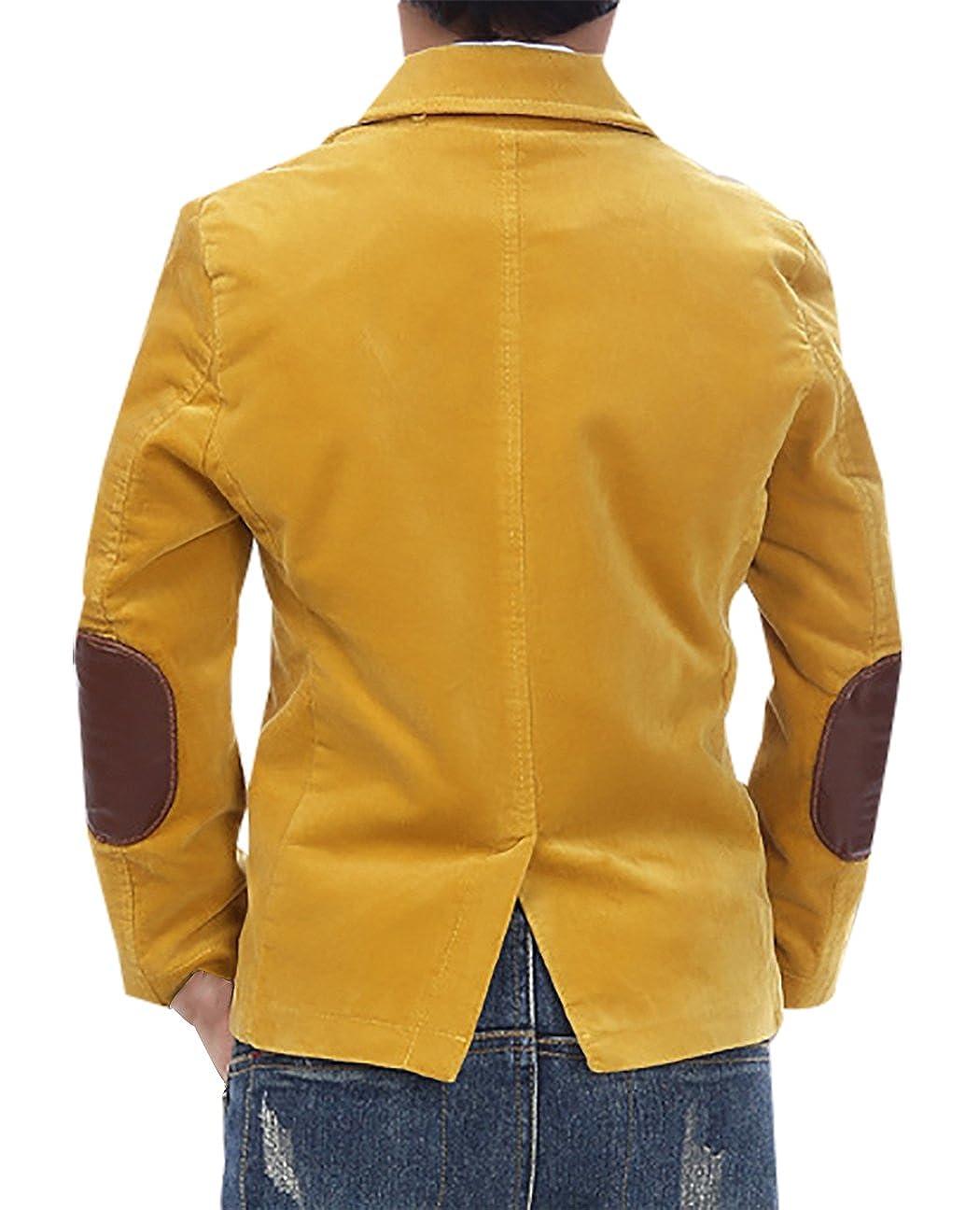 Amazon.com: JiaYou - Chaqueta para niño con botones: Clothing