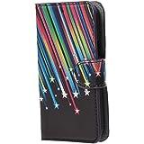 Custodia per Galaxy Gore Plus,Protettiva in Pelle Caso Guscio Flip Folio Case Wallet Cover per Samsung Galaxy Core Plus (GT-G3500/SM-G350/G3502) Custodia Casi Portafoglio(Meteor)
