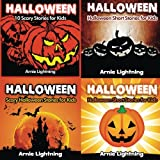 Halloween Book Bundle (4 Books in 1): Scary Stories for Kids and Halloween Jokes (Spooky Halloween Stories) (Volume 1)