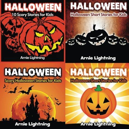 Halloween Book Bundle (4 Books in 1): Scary Stories for Kids and Halloween Jokes (Spooky Halloween Stories) (Volume 1)]()