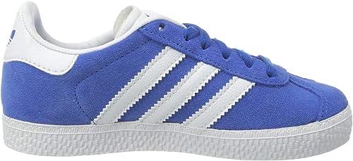 adidas gazelle enfants bleu