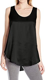 product image for PJ Harlow Jackie Satin Hi-Low Cami with Side Slits