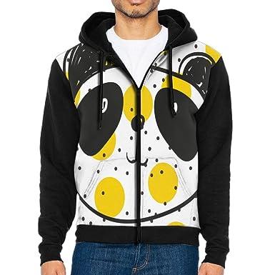 938f3dad8c34 Amazon.com  XIUARROWXIU Sweatshirt Cute Pandas Men s Full Zip Long ...