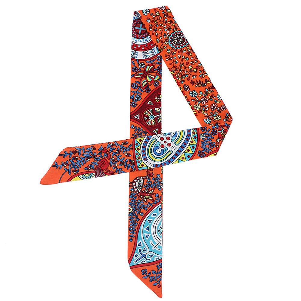 pu/ò essere utilizzata per creare una variet/à di stili e legata alla borsa o abbinata alla fascia e alla cintura per capelli Xmiral Sciarpa Donna Sciarpa Donna Foulard Donna