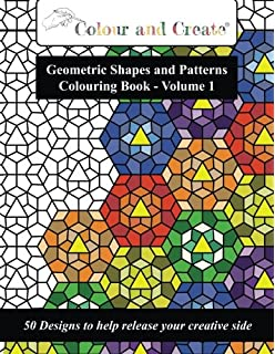 Geometric Coloring Books for Adults: Amazon.co.uk: Individuality ...