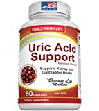 Uric Acid Support, Cleanse & Kidney Function Control - Supports A healthy Natural Gout Inflammation -- Includes Tart Cherry, Celery Seed Extract