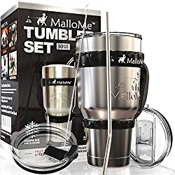 Mallome Stainless Steel Vacuum Insulated 6-Piece Tumbler Set Review