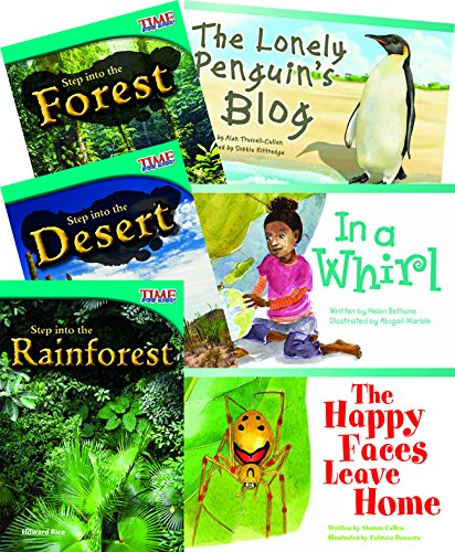 Step into Biomes  6-Book Set (Classroom Library Collections)