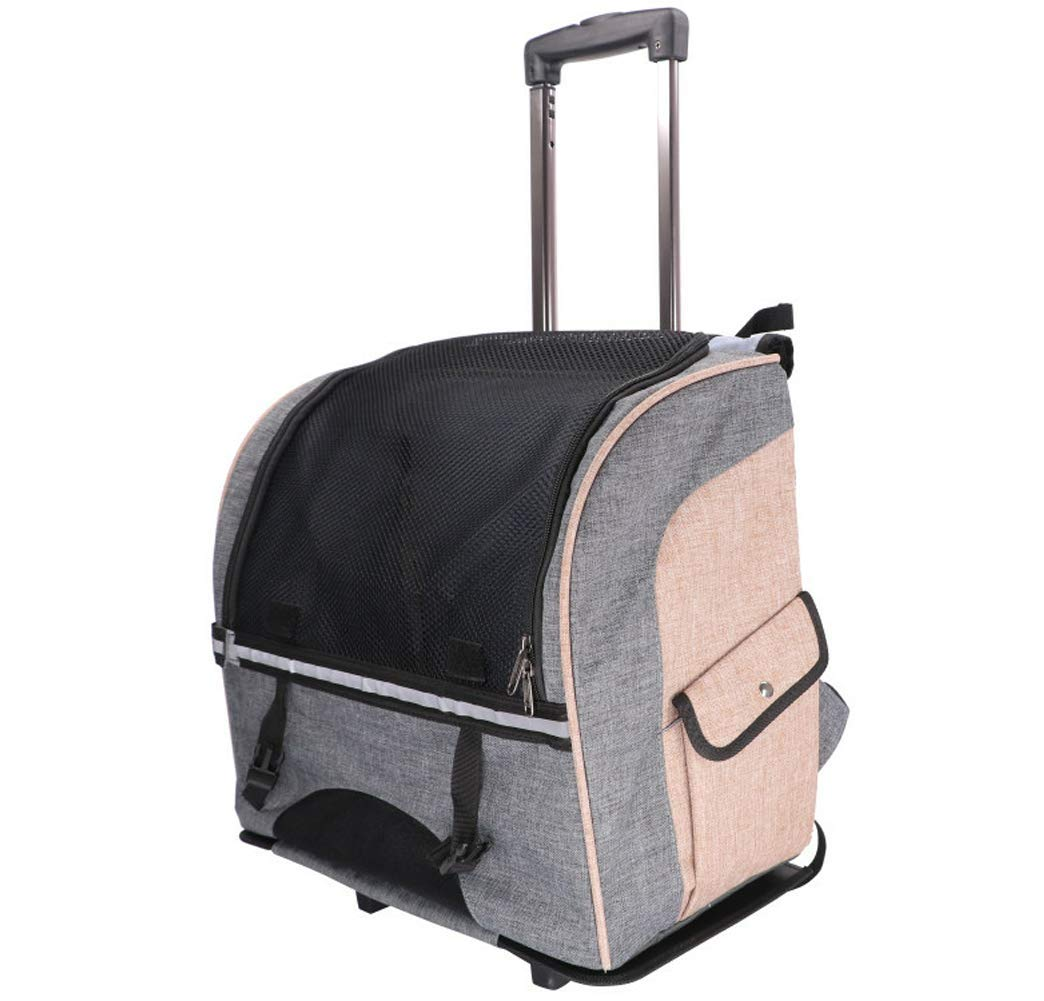 Pet Carrier Petera Rolling Pet Carrier Back Pack Airline Approved