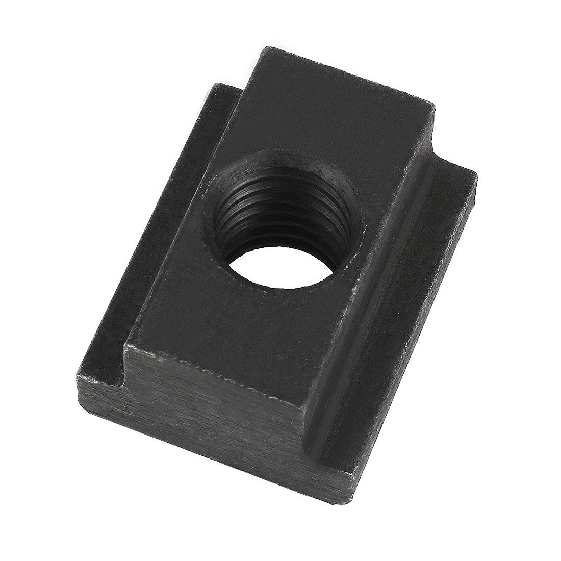 1018 Steel T-Slot Nut 3//8-16 Threads 5//8 Height 9//16 Slot Depth Te-Co 41406 Pack of 5 Made in US 9//16 Slot Depth 3//8-16 Threads 5//8 Height Black Oxide Finish