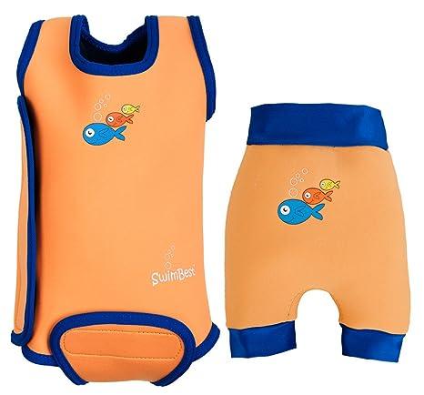 SwimBest - Bañador de neopreno para bebé (niños de hasta 2 años ...