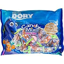 Disney Finding Dory Candy Mix Piñata Filler | Candy Characters, Lollipops,& Gummies | Assorted For Parties and Birthday. (Finding Dory)