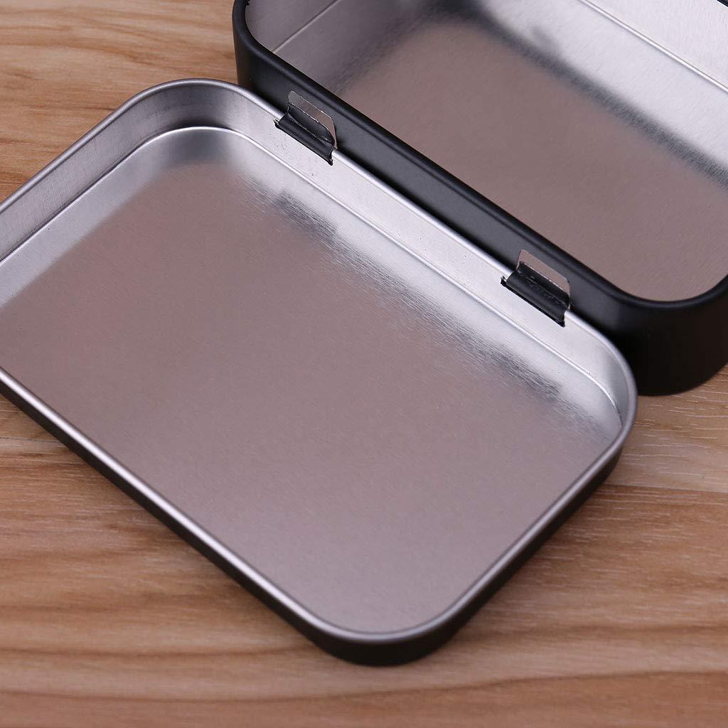 Monedas Candy Youlin Cajas de Almacenamiento de Metal para Joyas Caja met/álica peque/ña con Tapa