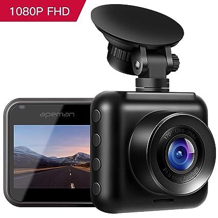 Flight Tracker 1080p Mini Auto Car Dvr 170° Wide Angle Dash Cam Video Recorder Adas G-sensor Other