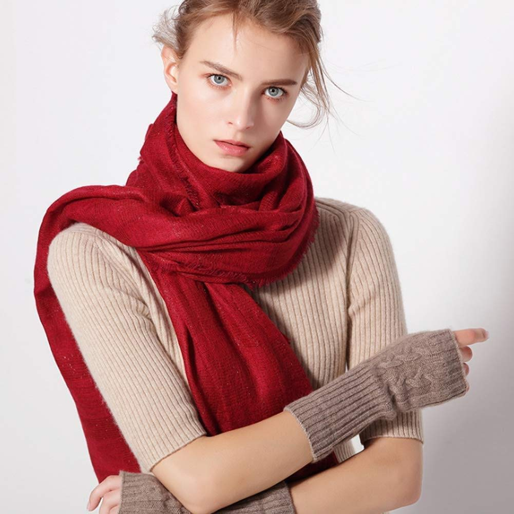 Delicate Cashmere Scarf  Luxurious Wool Blend  Lightweight, Soft, Warm and Stylish Winter Scarf, F,A,One Size