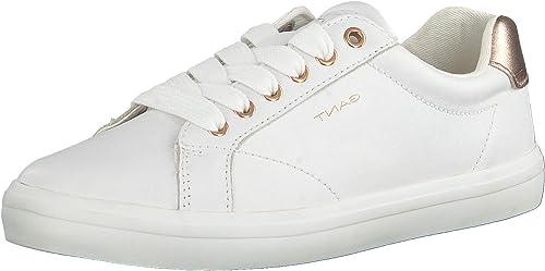 Gant Seaville Sneaker Bright White Rose Gold Damen Schuhe Sneaker Weiß Bronze