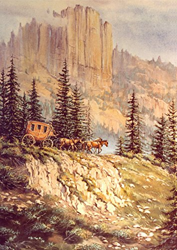 - MOUNTAIN STAGECOACH by Sharon Sharpe