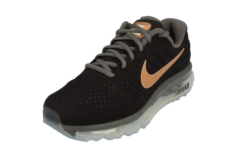995e219d8c7 Galleon - Nike Air Max 2017 Women s Running Shoes 849560 008 (6 B(M) US)  Black