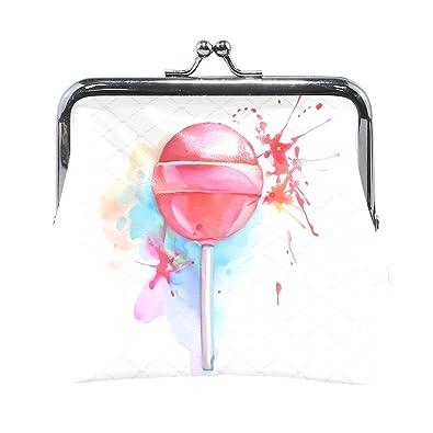 Amazon.com: Lollipop Candy - Monedero para mujer, con cierre ...