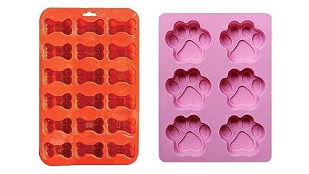 2 unidades de moldes de silicona combinados con forma de ...