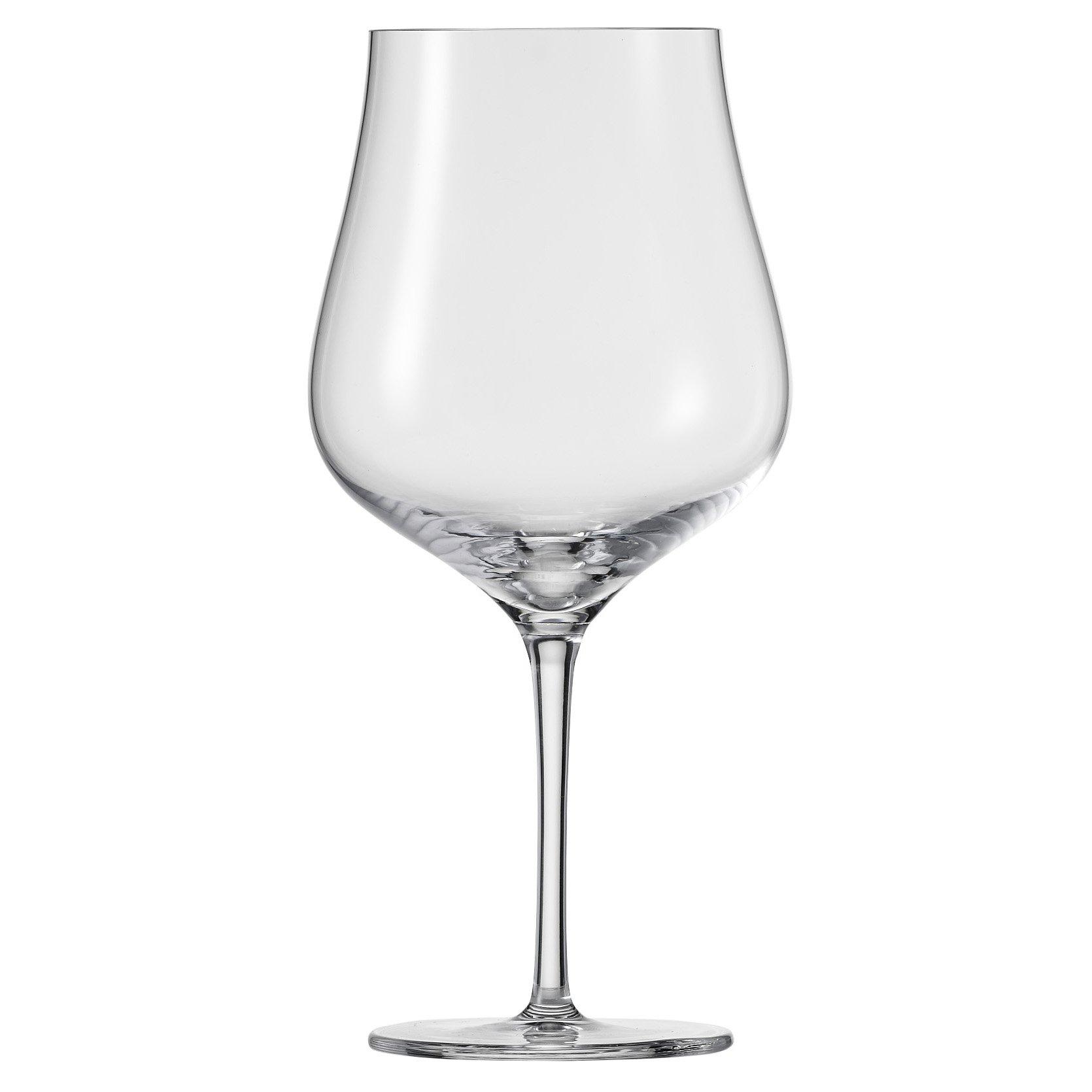 Schott Zwiesel Tritan Crystal Glass Concerto Stemware Collection, Burgundy, Red Wine Glass (Set of 6), 25.4 oz, Clear
