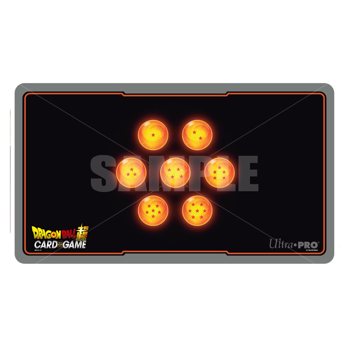 Ultra Pro Official Dragon Ball Super 7 Stars Playmat with Playmat Tube