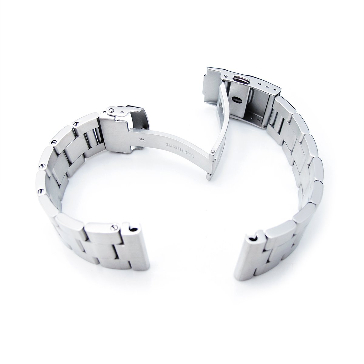 22mm Super Oyster Type II watch bracelet common use for diver watch, straight end by 22mm Metal Band by MiLTAT (Image #4)