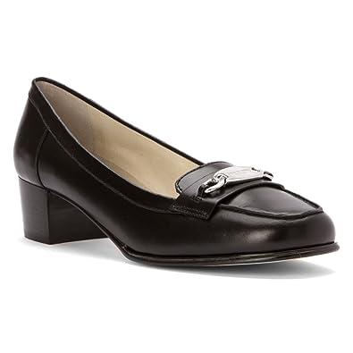 3dce61372ea Michael Kors Lainey Black Leather Loafer Women Size 6 M