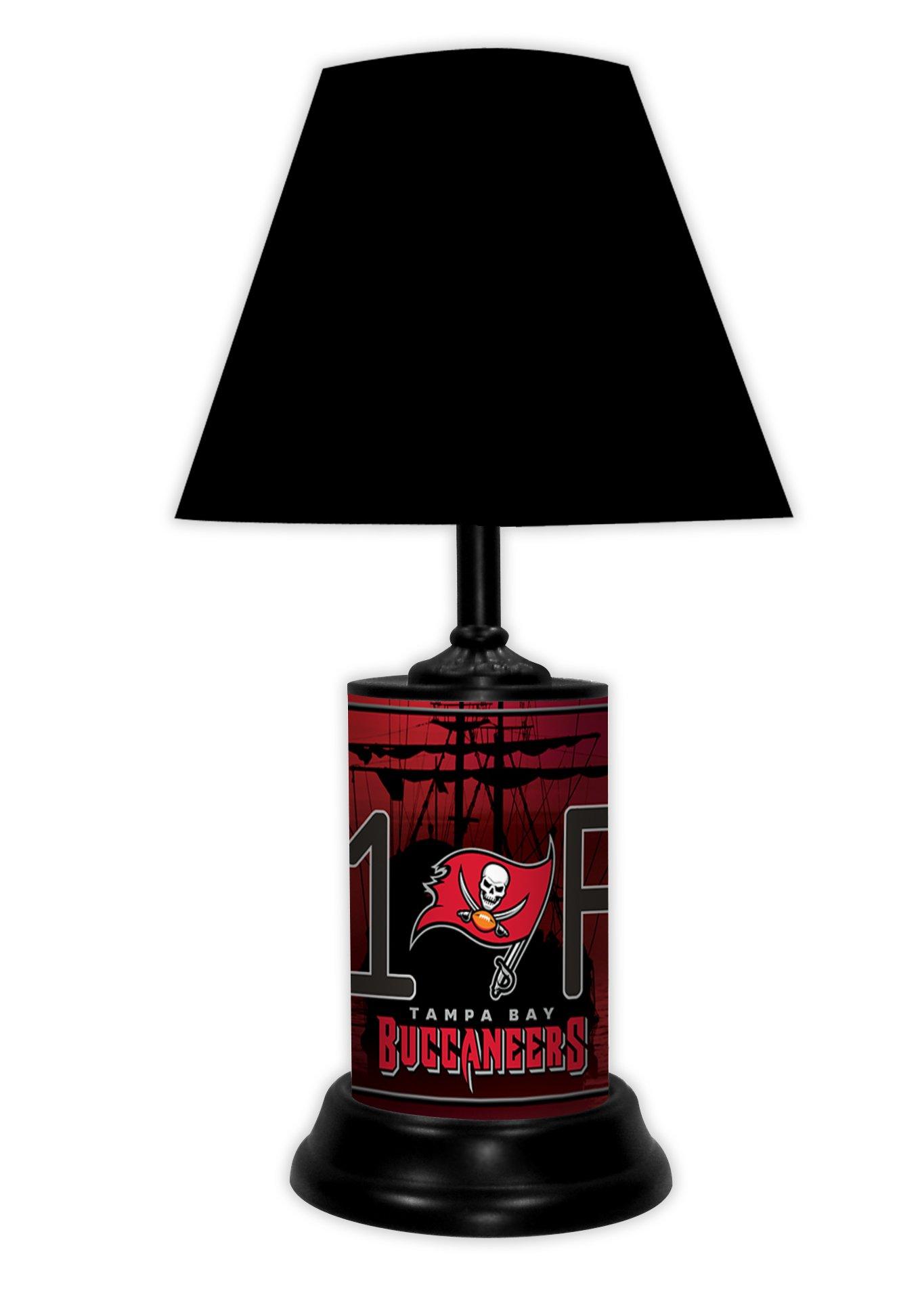 TAMPA BAY BUCCANEERS TABLE LAMP