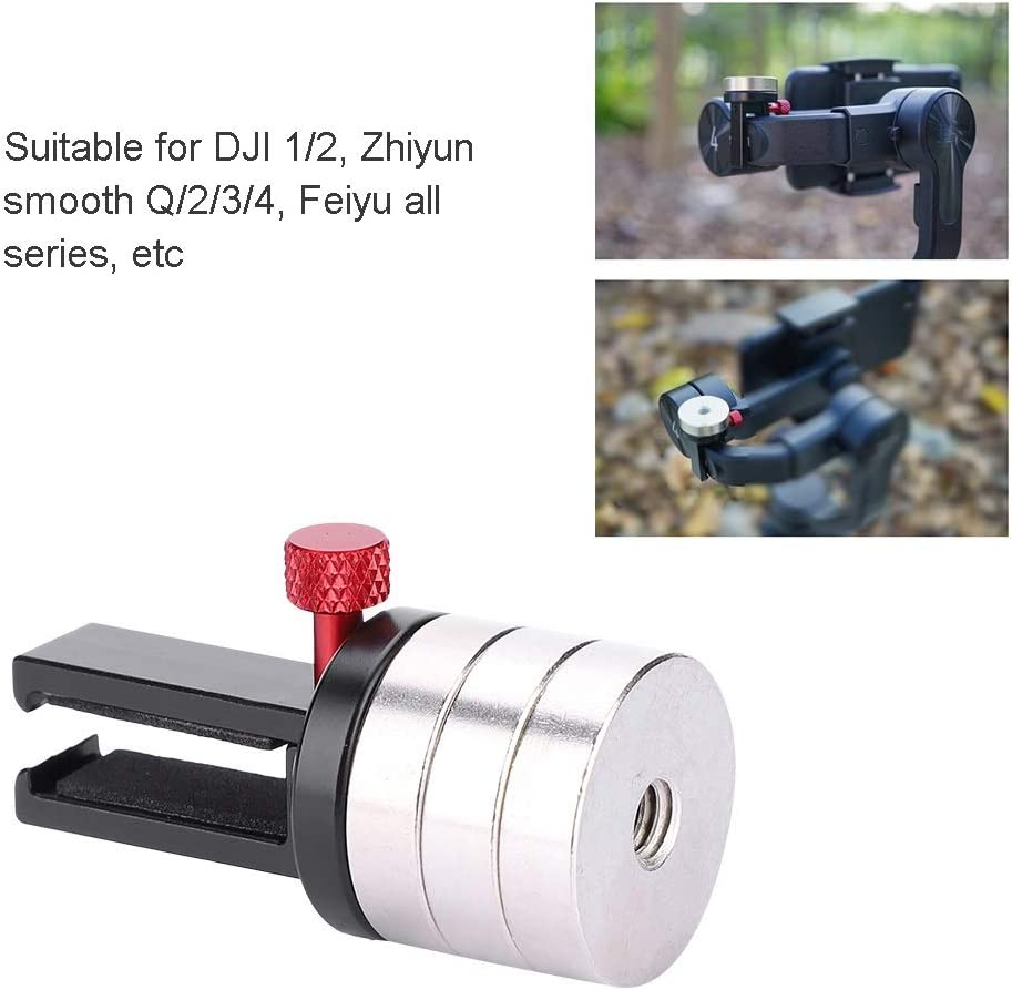 Universal Gimbal Counterweight Compatible for DJI 1//2 Feiyu All Series and Other Smartphone Gimbal Stabilizer Applied Balance to Moment Anamorphic Lens Zhiyun Smooth Q//2//3//4
