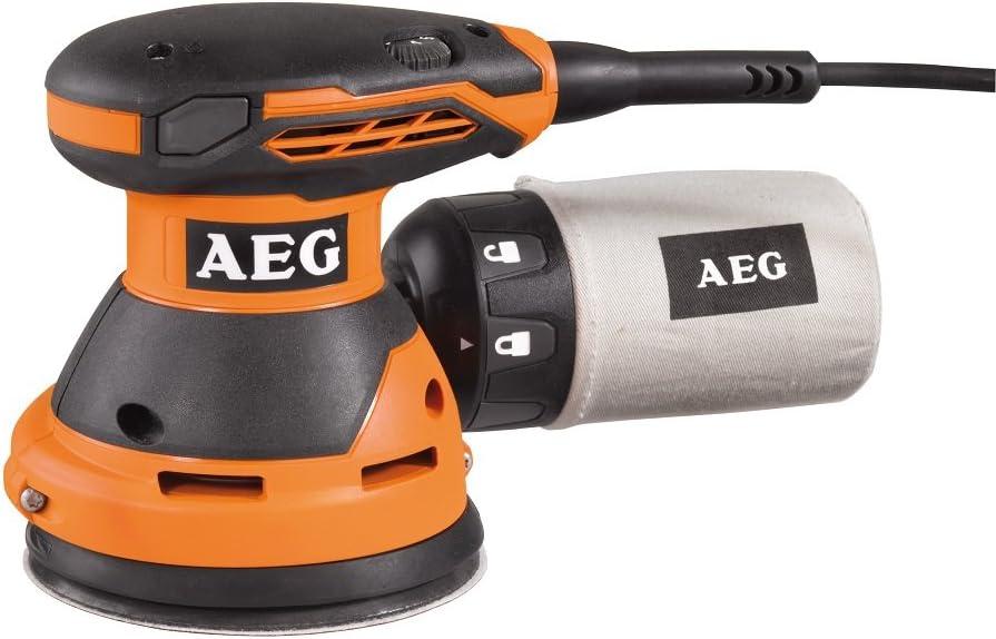 AEG 4002395135479 Ponceuse Excentrique Electronique Multicolore 440 W