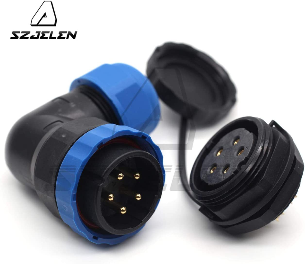 SD28 22pin waterproof connector 250V High Voltage Automotive Power Cable Plug